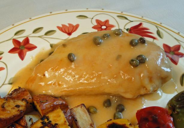 Weight Watchers Chicken Breasts With Caper Sauce for Two