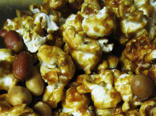 "Old Fashioned Molasses ""caramel"" Corn"