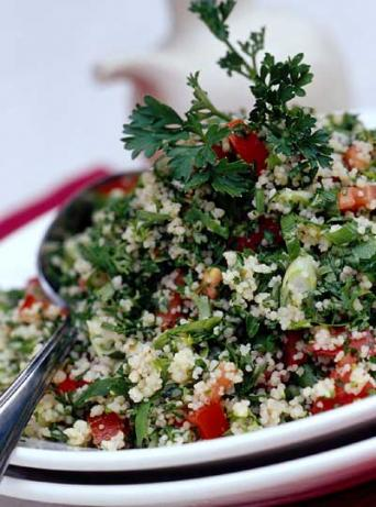 Tabbouleh Salad With Chopped Walnuts