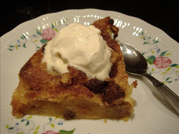 Date Panettone Bread and Butter Pudding