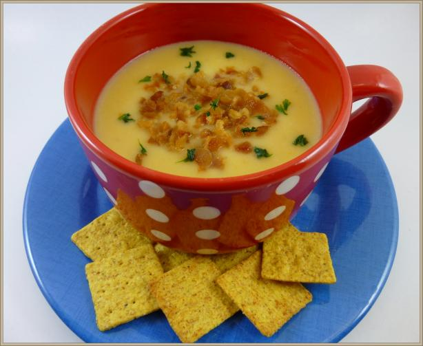 Easy Cheesy Crock Pot Potato Soup (Slow Cooker)