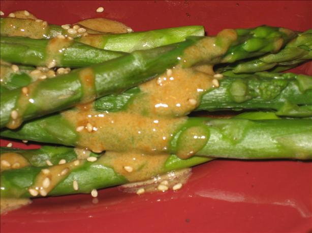Asparagus in Soy Cream Sauce (Zwt II - Asia)