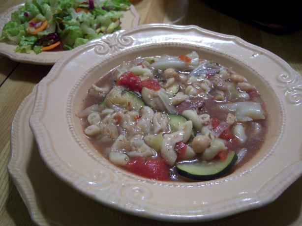 Minestrone Soup (Crock Pot / Slow Cooker)