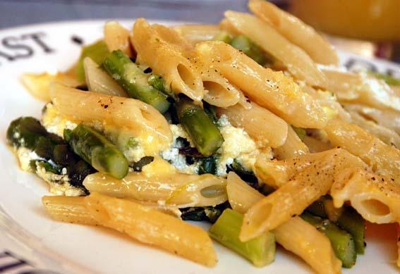 Baked Pasta with Asparagus (Pasta al Forno con Asparagi)