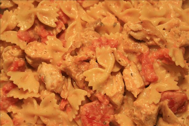 Creamy Cajun Chicken and Pasta for One