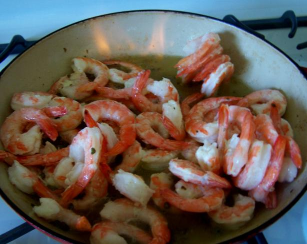 Shrimp in Pernod Cream Sauce