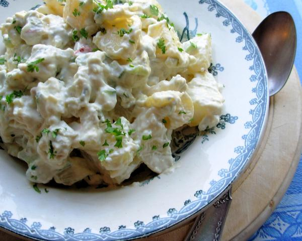 Potato Salad With Creamy Blue Cheese Dressing