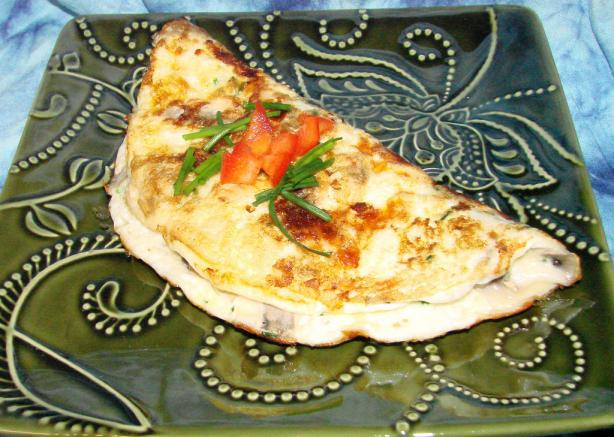 Nif's Mushroom and Cheddar Omelette (Omelet) - 1 1/2 Ww Pt.
