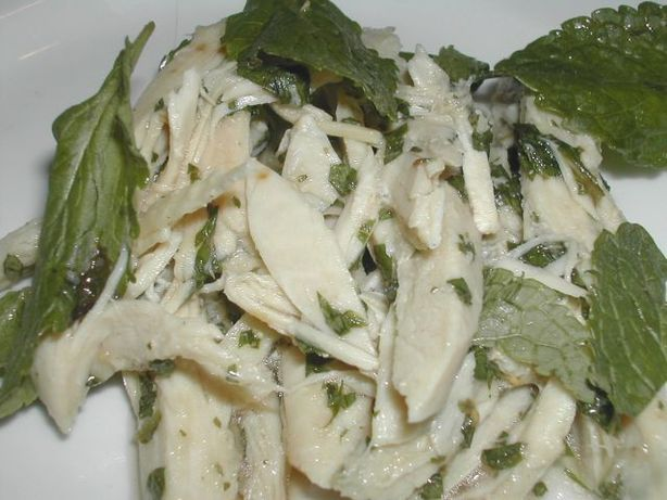 Chicken Mint and Lime Salad