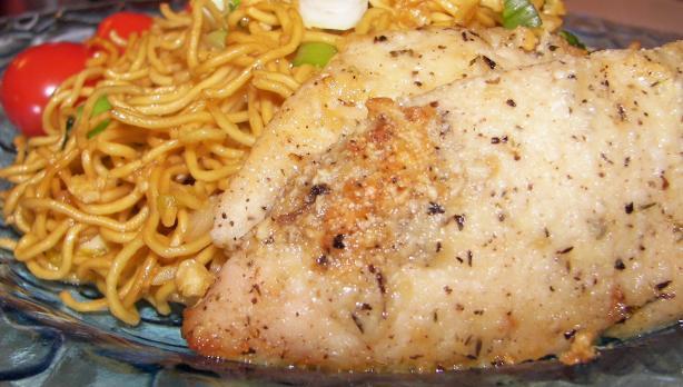 Quick & Easy Garlic Chicken With Parmesan