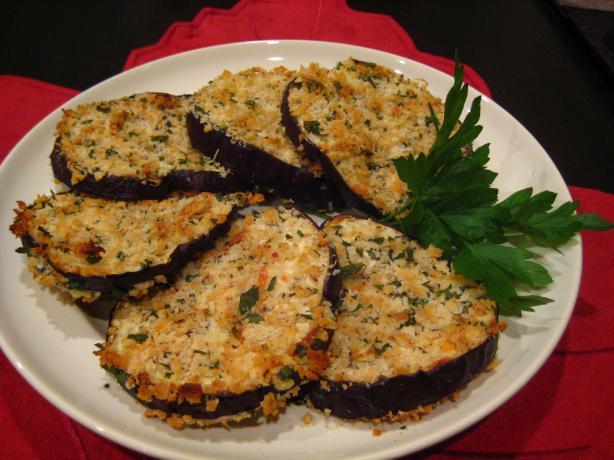 Oven Fried Eggplant (Aubergine)