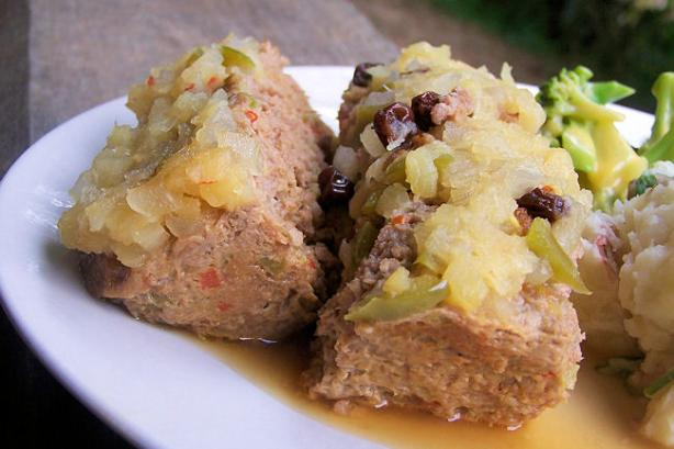 Ww Hawaiian Turkey Loaf (Weight Watchers 6 Points Per Serving)