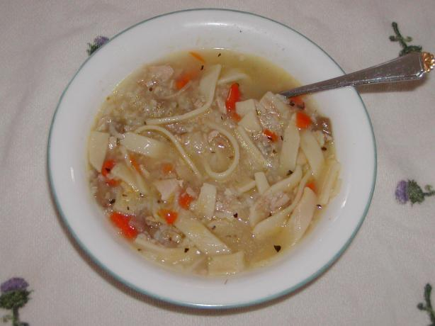 Brian's Chicken Noodle Soup