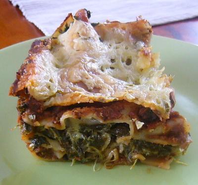 Lasagna Spinaci (Italian Spinach Lasagna)