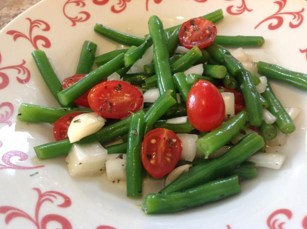 Green Bean Salad With Honey-Lime Dressing
