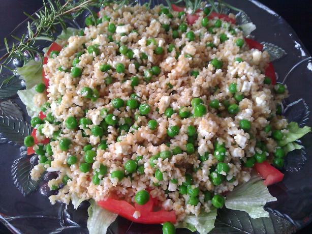 Tabbouleh-Pea Salad