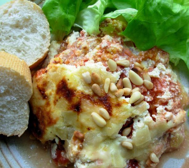 Boxing Day Festive Roast Pumpkin and Cheese Lasagne - Lasagna