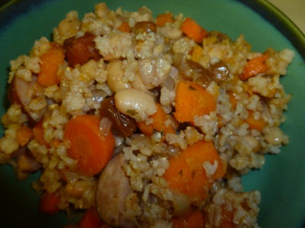 Autumn Sausage Casserole (In the Crock Pot )