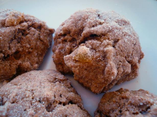 Soft Ginger Spice Cookies