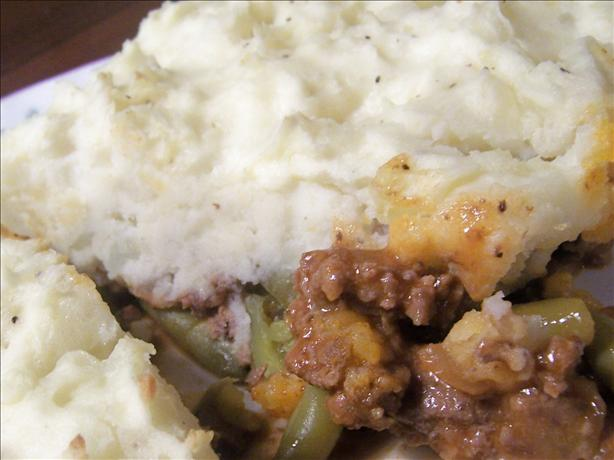 Meat & Green Bean Casserole