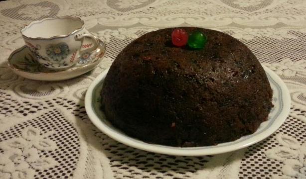 Christmas Plum Pudding