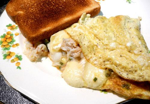 Crab & Brie Omelet (Treasure Trove #12)