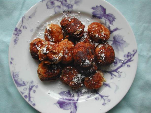 Aebleskiver (Round, Filled Danish Pancakes)