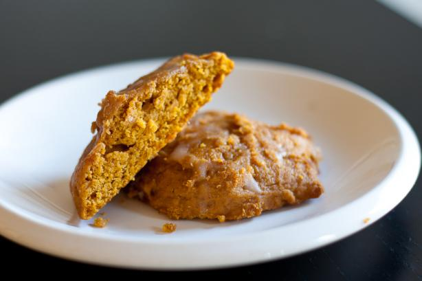 Vegan Old-Fashioned Soft Pumpkin Cookies