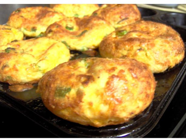 Green Onion-Parmesan Popovers