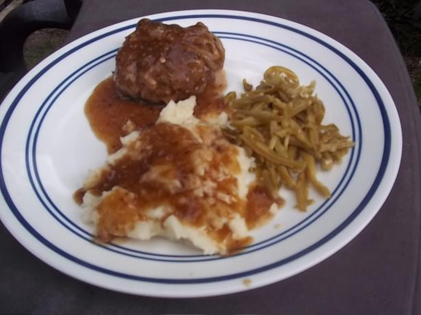 Peppercorn Salisbury Steak Deluxe