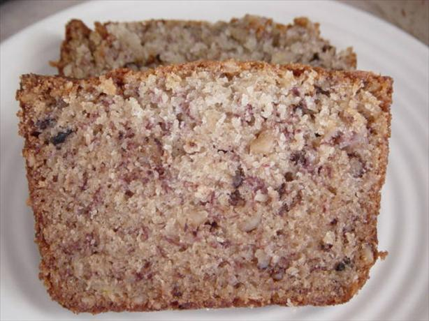 Moist Banana Walnut Bread