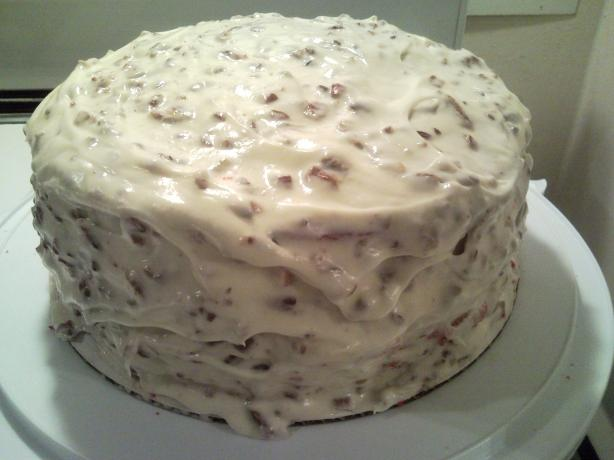 Missy's Red Velvet Cake W/Cream Cheese Frosting
