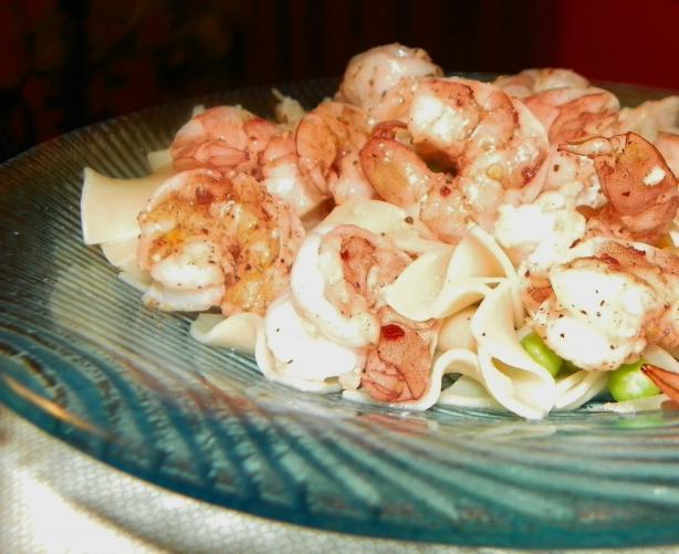 Lighter Shrimp Scampi