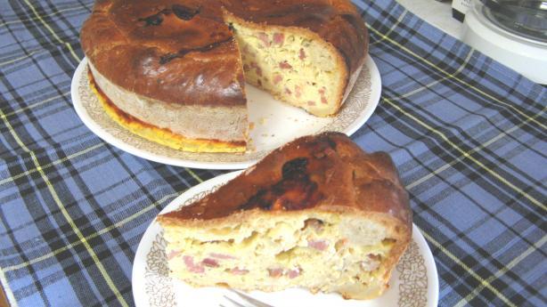 "Italian Easter Pie /Pizza Rustica (Aka ""Ham Pie"")"