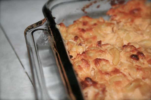 Lightened Fannie Farmer's Classic Baked Macaroni and Cheese