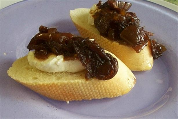 Crock Pot Onion Confit