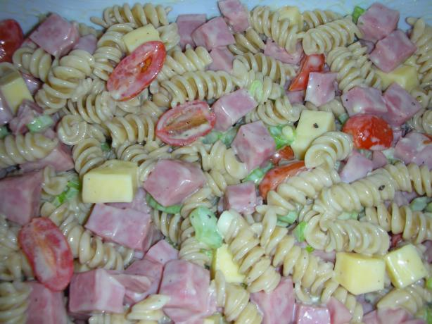 Ham and Smoked Gouda Salad
