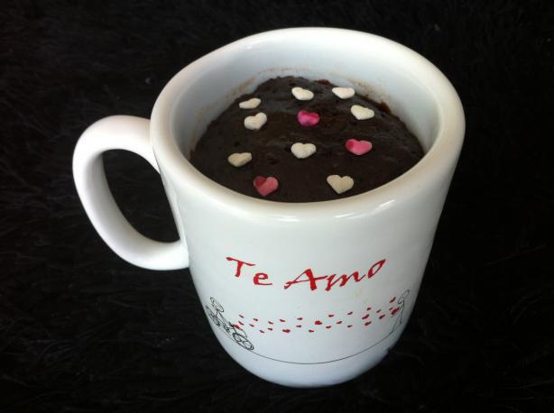 Microwave Chocolate Mug Brownie
