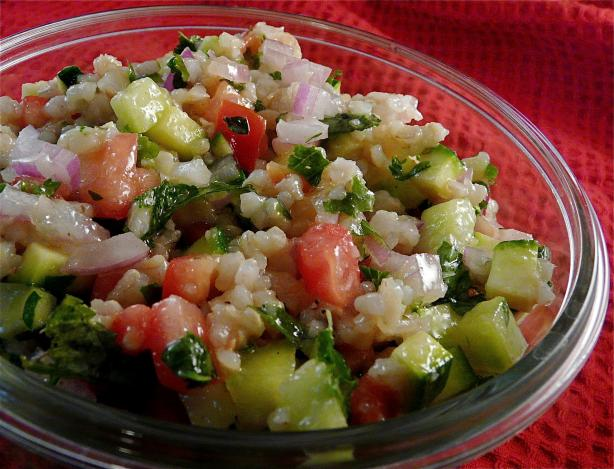 New-Age Tabbouleh Salad