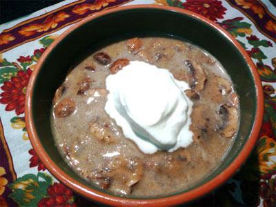 Sandys Gourmet Mushroom Soup