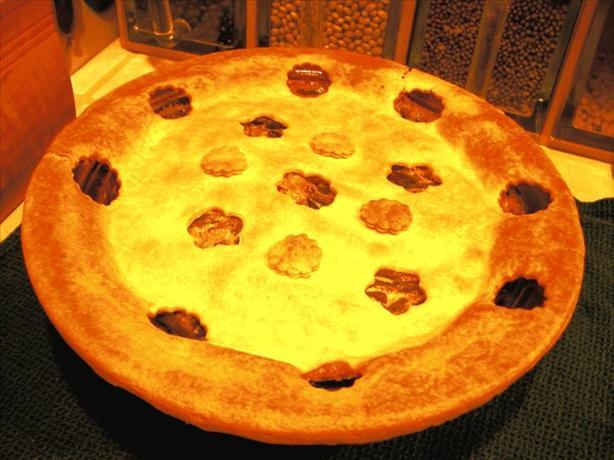 Green Bean Mushroom Pie