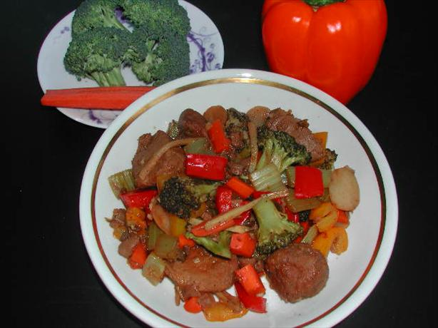 Spicy Screamin' Szechuan Stir Fry