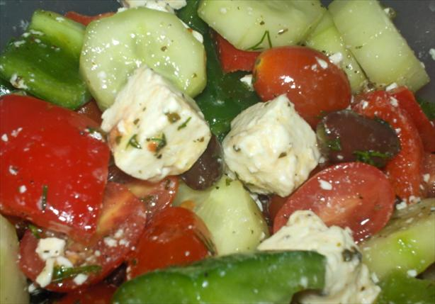 Ultimate Greek Salad With Cherry Tomatoes