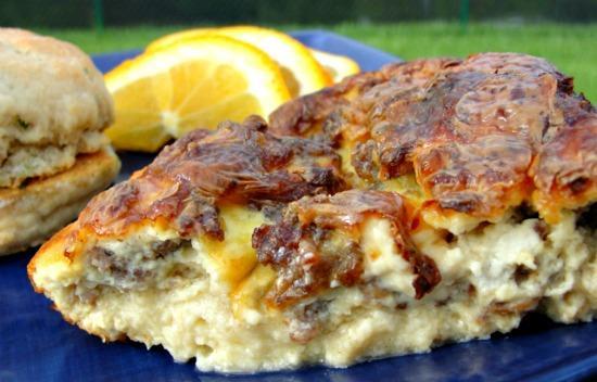 Brie & Sausage Breakfast Casserole (Treasure Trove #11)