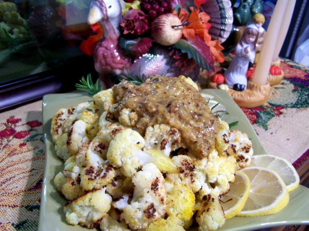 Ambrosial Roasted Garlic Cauliflower
