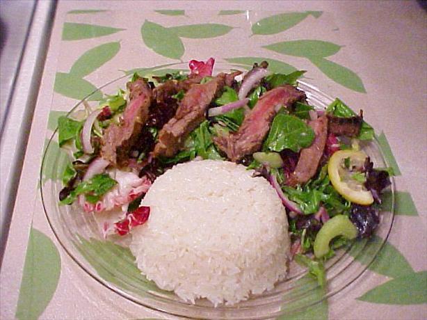 Tiger Cries Salad (a Spicy Thai Beef Salad)