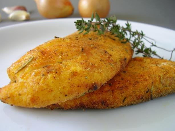 Yummy Crispy Baked Fish