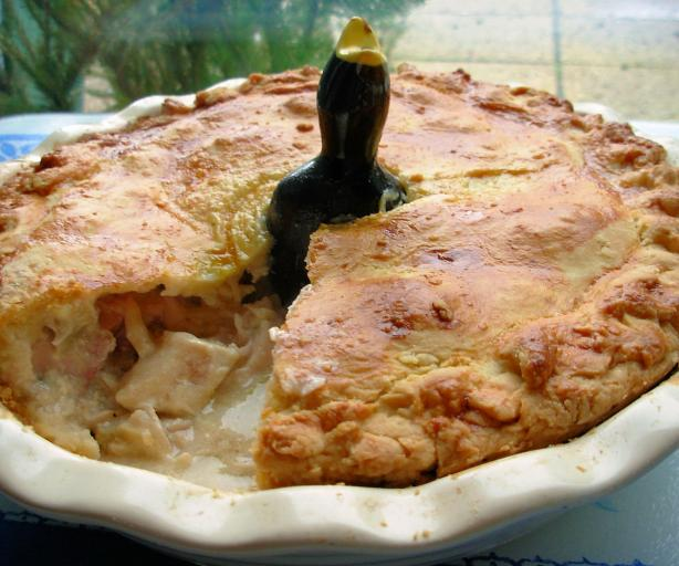 Blackbird Pie......or Chicken, Leek and Potato Pie!
