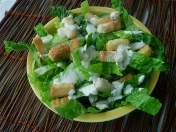 Kittencal's Famous Caesar Salad