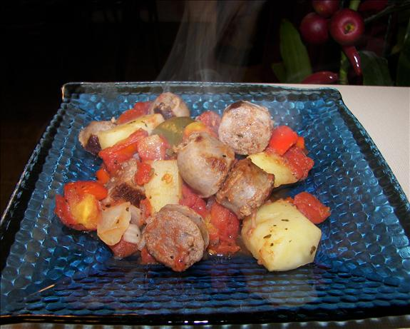 Italian Sausage and Potato Casserole
